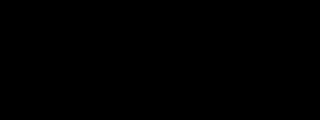 아베다 로고 블랙