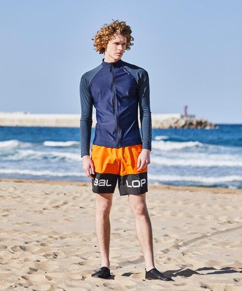 신세계인터넷면세점-밸롭-Swimwear-밸롭 플로리다 남성 트렁크 오렌지 M