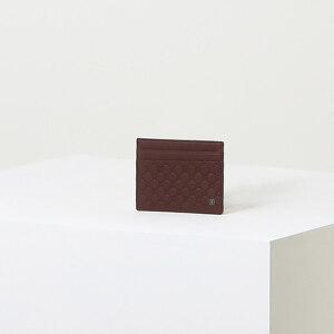 신세계인터넷면세점-닥스-지갑-DBHO1F381D2 와인 로고패턴 소가죽 카드지갑