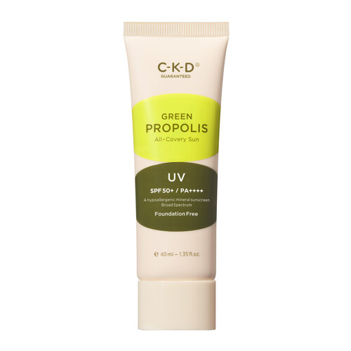 韩际新世界网上免税店-CKD Guaranteed--GREEN PROPOLIS ALL-COVERY SUN 防晒霜 40ml