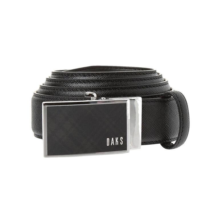 신세계인터넷면세점-닥스--DBBE1F681BK 블랙 버클체크 자동 벨트