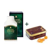 신세계인터넷면세점-닥터 내츄럴-ProteinPowder-[유통기한2022-05]Spirulina 500 + Honey Candy 75g