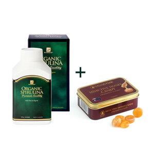 [유통기한2022-05]Spirulina 500 + Honey Candy 75g