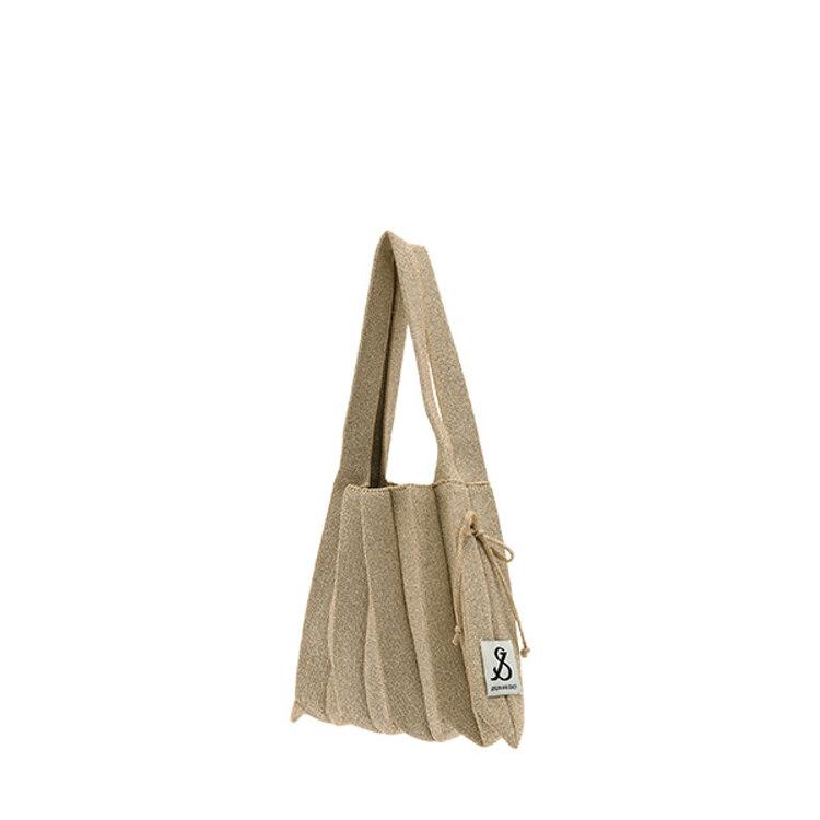 신세계인터넷면세점-조셉앤스테이시-여성 가방-Lucky Pleats Knit S Starry Starry Hazelnut