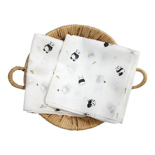 신세계인터넷면세점-밍크엘레팡-BABY ETC-팬더 대나무 손수건 세트(10장)