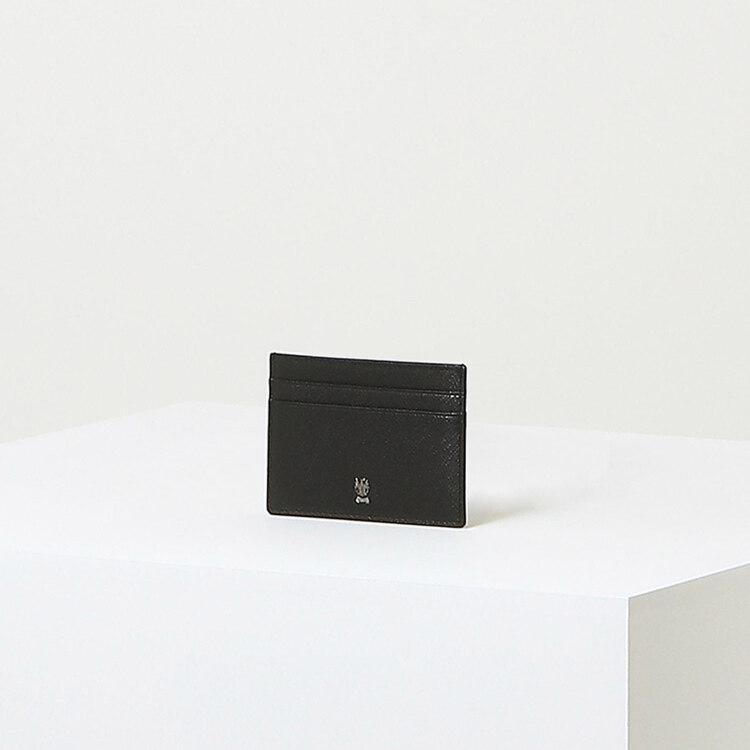 신세계인터넷면세점-닥스-지갑-DBHO1F141BK 블랙 체크배색 소가죽 카드지갑