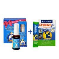 韩际新世界网上免税店-自然博士-OMEGA 3-[有效期2022-07]Propolis Honey Spray Trio + Cheersfor 3ea