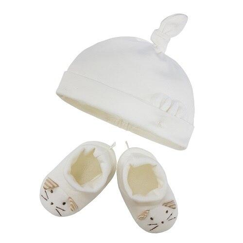 신세계인터넷면세점-밍크엘레팡-BABY ETC-마우스 신생아모자&덧신선물세트