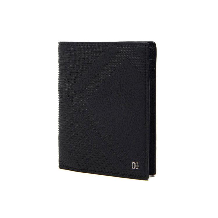 신세계인터넷면세점-닥스-지갑-DBWA1E482BK 블랙 체크 엠보 중지갑
