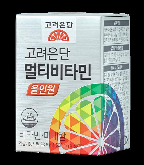 韩际新世界网上免税店-korea endan-VITAMIN-멀티비타민 올인원 60정