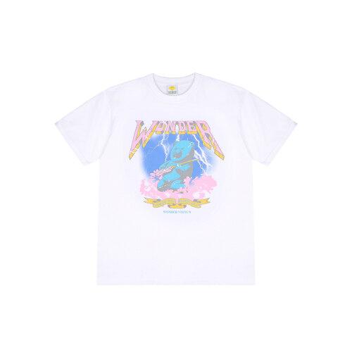 Rocking bear T shirts [White] L