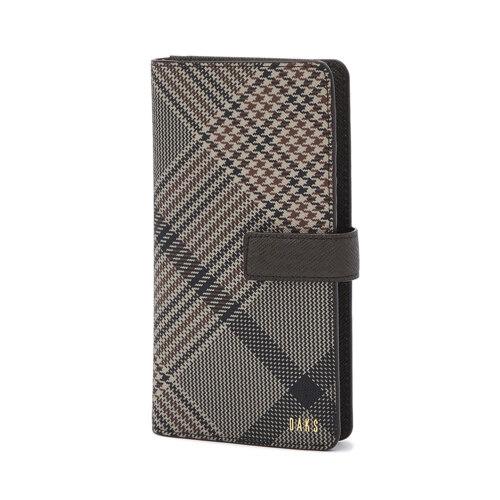신세계인터넷면세점-닥스-Smart-Device-Acc-DBHO1F093W3 브라운 체크 다기종 핸드폰 케이스