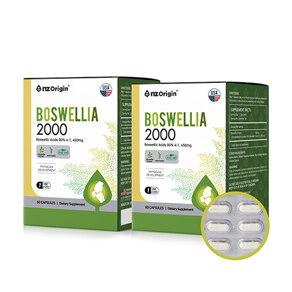 [유통기한:2022-09-01]보스웰리아 2000 세트(60캡슐X2) / 4개월분