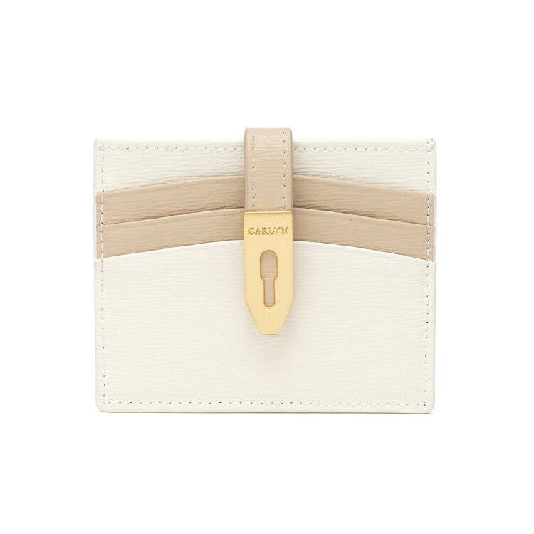 신세계인터넷면세점-칼린-여성 가방-콤비 지갑 아이보리