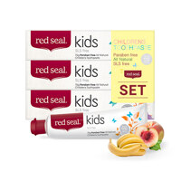 韩际新世界网上免税店-RED SEAL-FOOD ETC-Red Seal Toothpaste Kids SET (3 in 1)