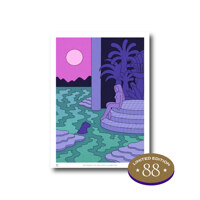 韩际新世界网上免税店-8FARTROOM-PAINTING-Sunset Bath