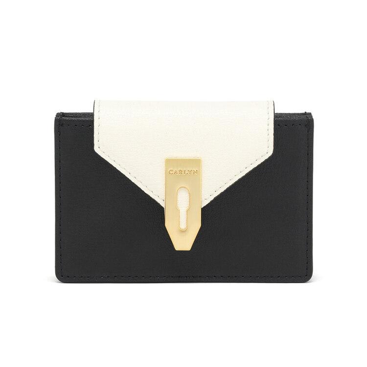 신세계인터넷면세점-칼린-여성 가방-래치 지갑 블랙