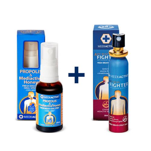 [유통기한2022-03] Honey Spray 25ml + Antidust 25ml Duo Set