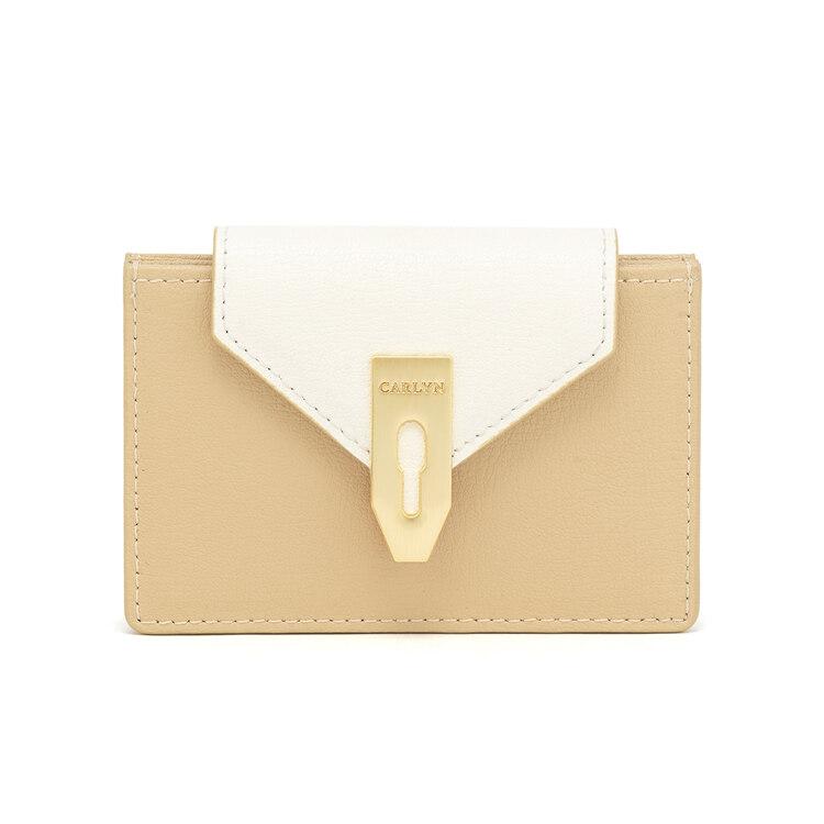 신세계인터넷면세점-칼린-여성 가방-래치 지갑 크림베이지