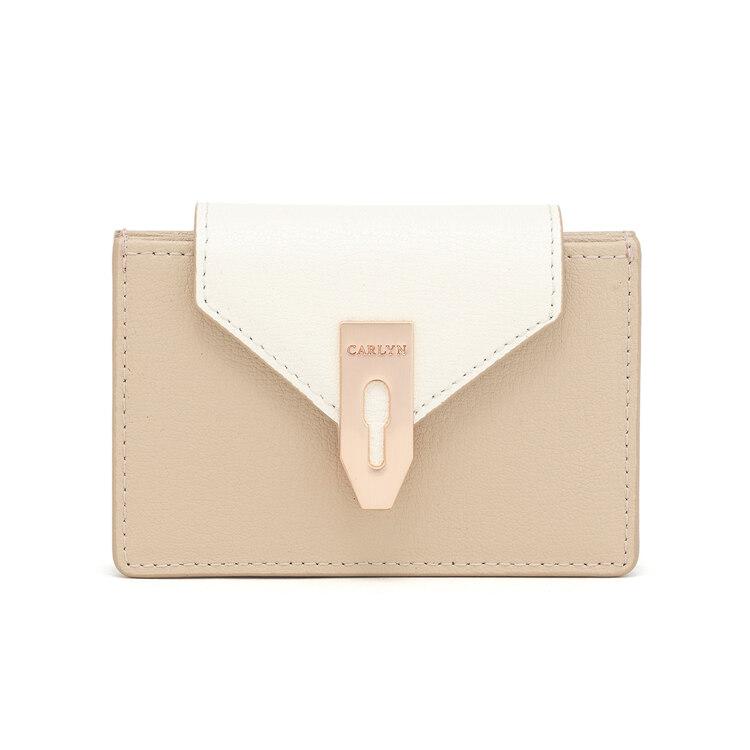 신세계인터넷면세점-칼린-여성 가방-래치 지갑 연베이지