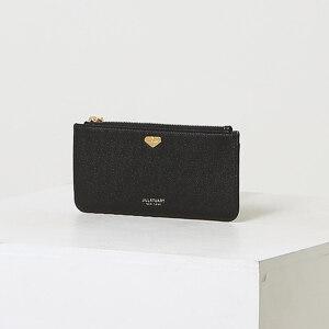 신세계인터넷면세점-질 스튜어트(패션)-지갑-JAWA1F600BK 블랙 로고장식 소가죽 지퍼장지갑