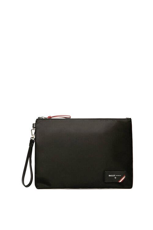 韩际新世界网上免税店-巴利-男士箱包-FHOLLER/00 BLACK 手拿包