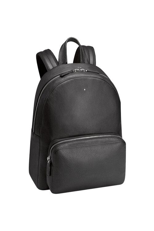 韩际新世界网上免税店-万宝龙-男士箱包-U0113950-1(MST Soft Grain Backpack Black双肩包)