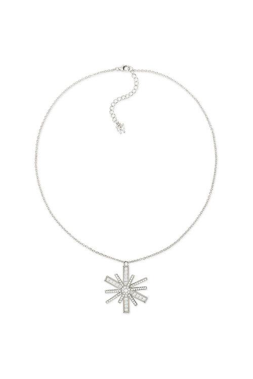韩际新世界网上免税店-芙丽芙丽-首饰-Star Flower Silver 925 Large Motif Short Necklace 项链