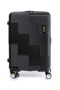 韩际新世界网上免税店-AMERICAN TOURISTER-旅行箱包-GL709010(A) VELTON SPINNER 69/25 EXP TSA V1 BLACK