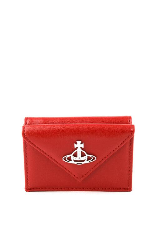 신세계인터넷면세점-비비안웨스트우드-여성 가방-ROSIE ENVELOPE BILLFOLD WITH POCKET RED