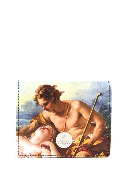 韩际新世界网上免税店-维维安.韦斯特伍德-女士箱包-SHEPHERDESS WOMAN BILLFOLD 短款钱包