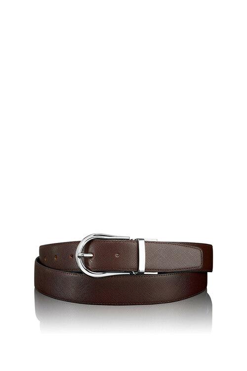 신세계인터넷면세점-투미--15960NSBD-OS Belts Saffiano Horseshoe Reversible Belt