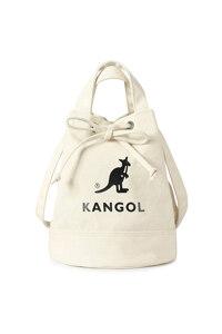韩际新世界网上免税店-KANGOL-休闲箱包-TB3738IVOS Alice Canvas Bucket Bag 手提包 3738 IVORY