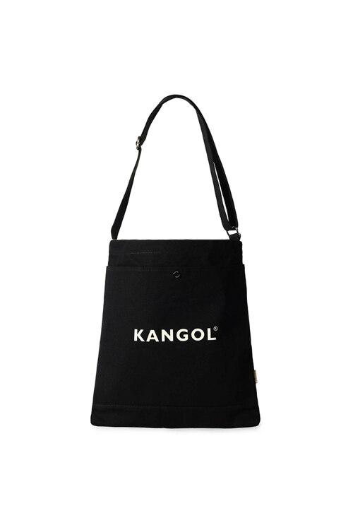 韩际新世界网上免税店-KANGOL-休闲箱包-EB0025BKOS Eco Cross Bag Connie N 环保斜挎包 0025 BLACK