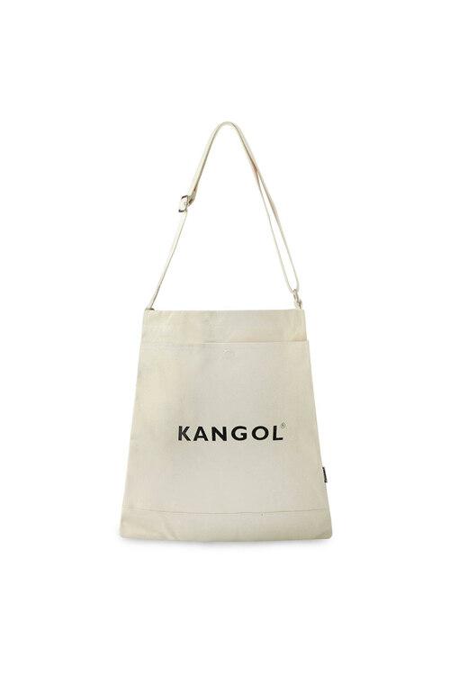 韩际新世界网上免税店-KANGOL-休闲箱包-Eco Cross Bag Connie N 0025 IVORY 环保袋
