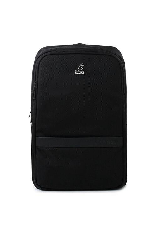 韩际新世界网上免税店-KANGOL-休闲箱包-Victor II Backpack 1328 BLACK 双肩包