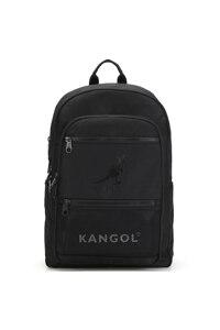 韩际新世界网上免税店-KANGOL-休闲箱包-Flash zipped Backpack 1354 BLACK 双肩包