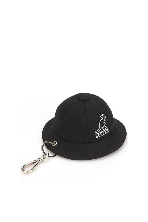 韩际新世界网上免税店-KANGOL-女士箱包-Bermuda Key Holder 0005 BLACK 钥匙扣