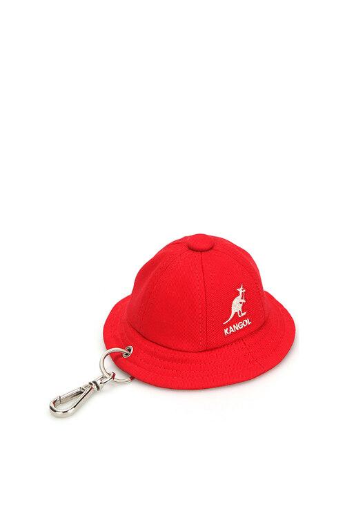 韩际新世界网上免税店-KANGOL-女士箱包-Bermuda Key Holder 0005 RED 钥匙扣