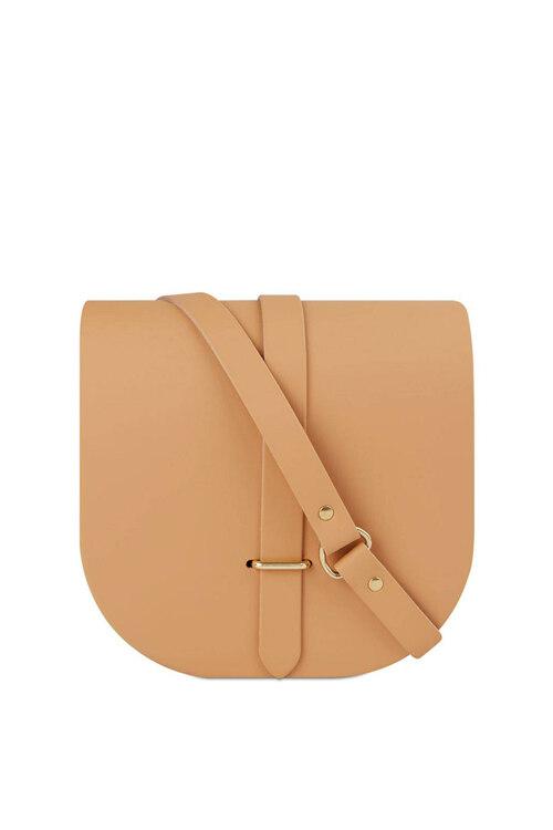 韩际新世界网上免税店-Cambridge Satchel-女士箱包-SDLNA1309BBH10101 迷你单肩包 Mini Saddle Bag
