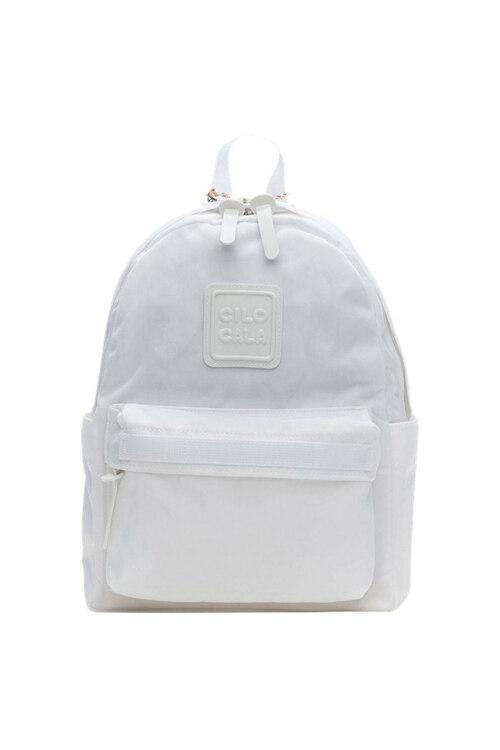 韩际新世界网上免税店-CILOCALA-男士箱包-CLASSIC BACKPACK S WHITE 双肩包