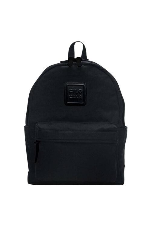 韩际新世界网上免税店-CILOCALA-休闲箱包-CLASSIC BACKPACK M BLACKY BLACK 双肩包