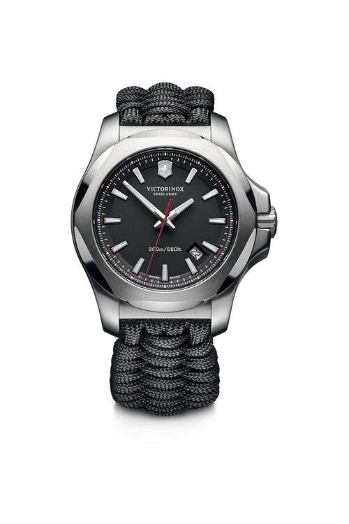 韩际新世界网上免税店-VICTORINOX WAT-手表-I.N.O.X. black Paracord bracelet watch 手表(男款)