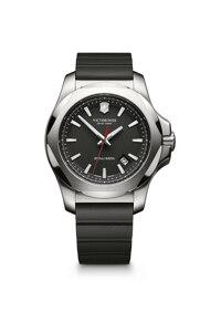 韩际新世界网上免税店-VICTORINOX WAT-手表-I.N.O.X. Black rubber strap watch 手表(男款)