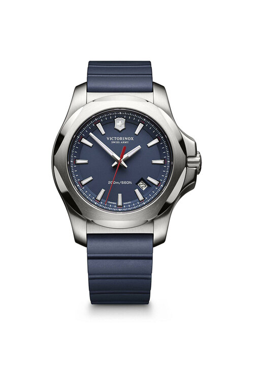 신세계인터넷면세점-빅토리녹스 시계--I.N.O.X. blue Dial Blue Rubber Strap Watch