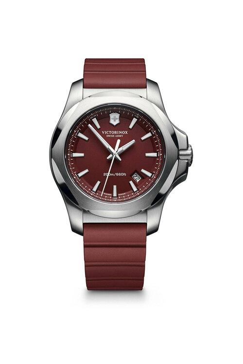 신세계인터넷면세점-빅토리녹스 시계--I.N.O.X. Red Dial Red Rubber Strap Watch