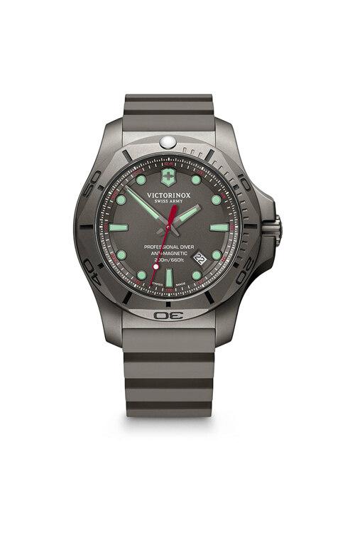 韩际新世界网上免税店-VICTORINOX WAT-手表-I.N.O.X. Professional Diver Grey Rubber Strap Watch 手表(男款)