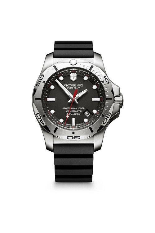 韩际新世界网上免税店-VICTORINOX WAT-手表-I.N.O.X. Professional Diver Black Rubber Strap Watch 手表(男款)