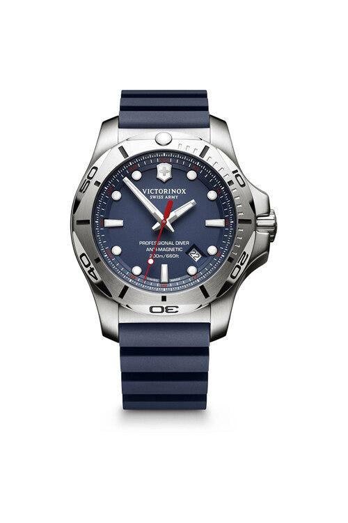 韩际新世界网上免税店-VICTORINOX WAT-手表-I.N.O.X. Professional Diver Blue Rubber Strap Watch 手表(男款)