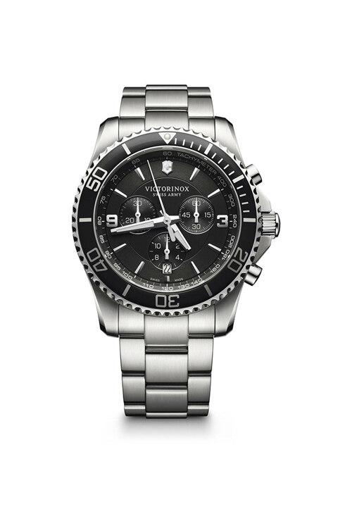 韩际新世界网上免税店-VICTORINOX WAT-手表-Maverick Chronograph Black Watch 手表(男款)